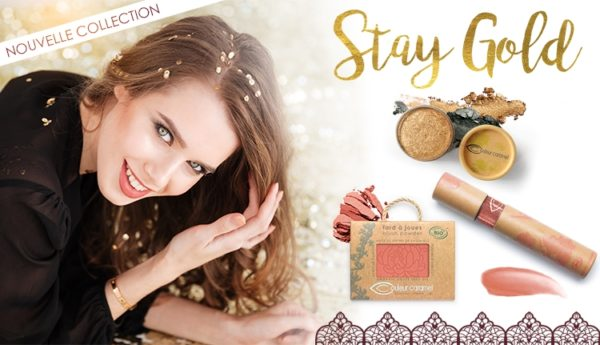 Maquillage Bio Stay Gold Couleur Caramel