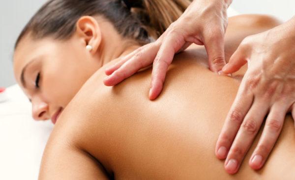 Massage  du dos SARVA PRÂNA