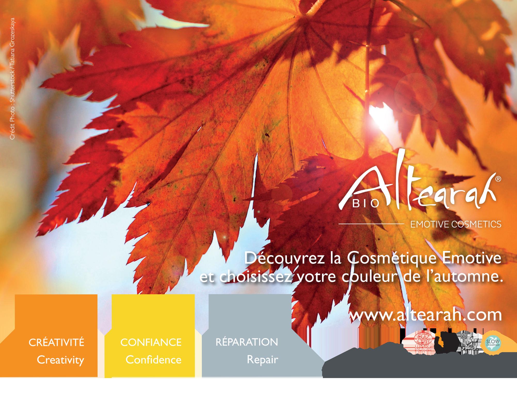 De quelles couleurs avez-vous besoin cet automne?